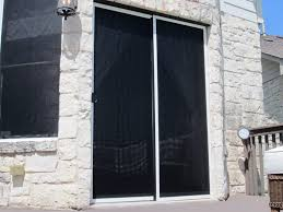 solar screen sliding door and solar