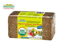 organic sunflower seed bread mestemacher