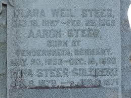 Aaron Steeg (1853-1926) - Find A Grave Memorial