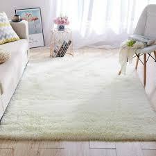 Gray White Carpet Rug Distressed Zig Zag Rugs For Kids Boys Room Bedroom 45 X66 For Sale Online Ebay