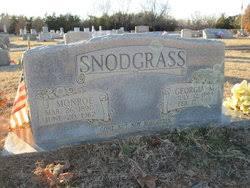 Georgia Myrtle Stevens Snodgrass (1893-1958) - Find A Grave Memorial