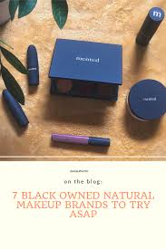 7 black owned natural makeup brands to