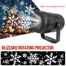 snow led moving laser projector light