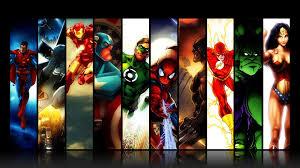 superhero background powerpoint