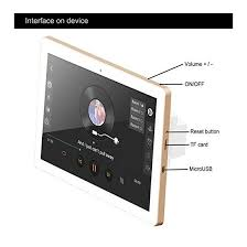 helmer in wall bluetooth amplifier with