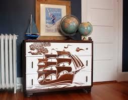 Diy Pirate Ship Dresser Idea Coastal Decor Ideas Interior Design Diy Shopping