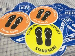 Floor Decals Signs Today Honolulu Hawaii Custom Sign Banners Vehicle Graphics Stickers Magnets Commercial Printing