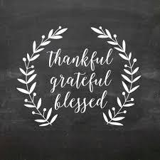 Thankful Grateful Blessed Wall Decal Db391 Designedbeginnings