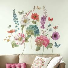 Lisa Audit Garden Flower Giant Wall Decals Roommates Decor