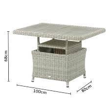 mini adjustable casual dining table