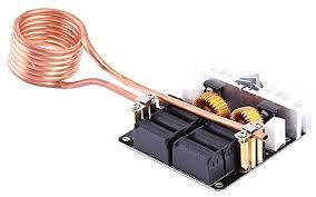 induction heating circuit diagram