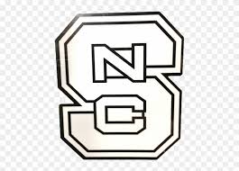 North Carolina State Wolfpack Vinyl Decal Clipart 1902668 Pinclipart