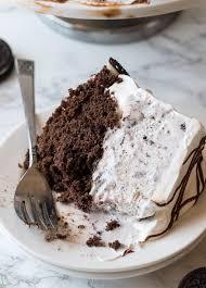 homemade oreo ice cream cake i wash