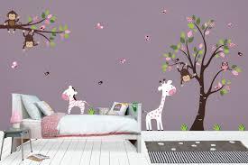 Baby Pink Decals Nursery Wall Decals Girls Nursery Decals Nurserydecals4you