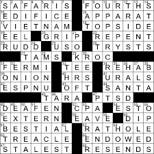 not belowdecks crossword clue archives