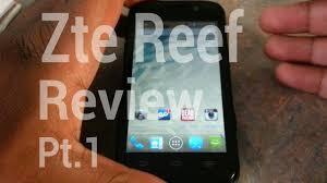 Virgin mobile} Zte Reef REVIEW PT.1 ...