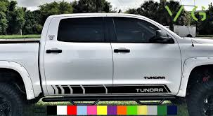 Toyota Tundra Vinyl Decal Sticker Graphics Kit Trd Sport Side Door X2 Any Color Decals Car Vehicle Accessories