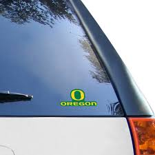 Oregon Ducks 4 5 X 5 75 Ultra Car Decal Cling