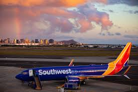 southwest airlines entering second