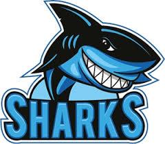 funny sharks logo vector eps free