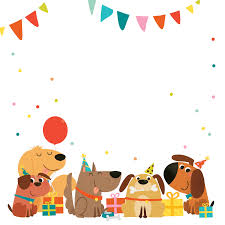 Delighted Dogs Free Printable Birthday Invitation Templa