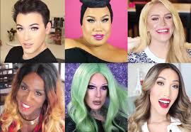 gender non conforming makeup gurus