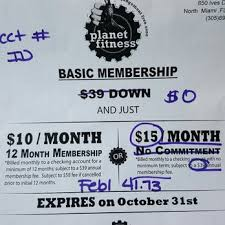 planet fitness annual fee fitness and