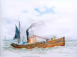 Alan Mann: Paintings of Boats