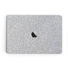 Blanc Glitter Macbook Skin Macbook Pro Touch Bar 15 Inch Uniqfind