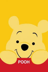 happy baby pooh and friends wallpaper
