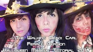 the walking dead carl female version