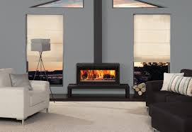 freestanding wood burning stove