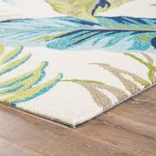 fl blue green area rug