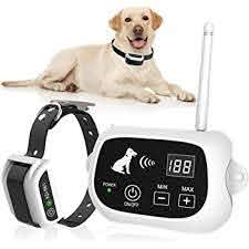 Amazon Com Nacrl Wireless Dog Fence Pet Containment System Up To 1640 Feet Control Range Waterproof Adjustable Rechargeable 2 In 1 Set Outdoor Electric Fence For Dogs Nacrl Pet Supplies