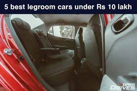 cars with best in segment legroom