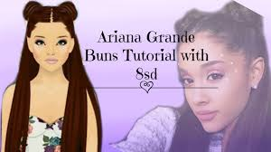 stardoll hair design tutorial ariana