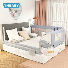 Hot Price F6aff4 Baby Playpen Bed Safety Rails For Babies Children Fence Baby Bed Fence Safety Gate Security Fencing Children Guardrail Cicig Co