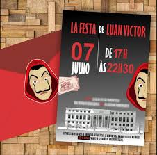Fiesta De La Casa De Papel Ideas Para La Decoracion