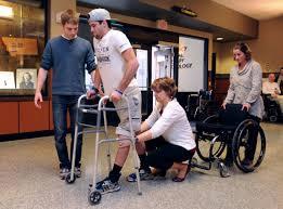 paralysis gives paraplegic hope to walk