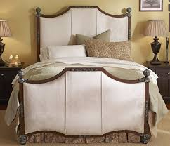 Kent Upholstered Iron Bed by Wesley Allen at WestwoodSleepCenters.com.