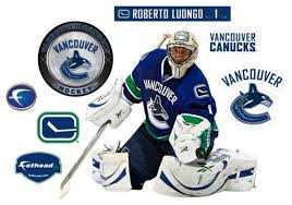 Roberto Luongo Fathead Jr Nhl Canucks Hockey Wall Sticker Contemporary Wall Decals By Ami Ventures Inc