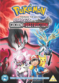 Amazon.com: Pokemon Movie 17: Diancie and the Cocoon of Destruction [DVD]: Movies  & TV