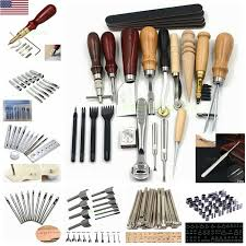 4mm leather craft tools kit 4 pcs hand