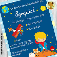 El Principito Invitacion Whatsapp Fiesta Del Principito El