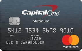 platinum credit card capital one