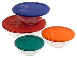 pyrex smart essentials mixing bowl set