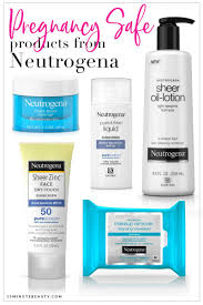 pregnancy safe skincare from neutrogena