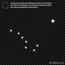Big Dipper Alaska Sticker Die Cut Decal Constellation Ebay