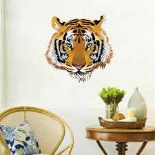 Clemson Tiger Wall Decal White Black And Giant Decor Design Daniel Large Stripe Cool Vamosrayos