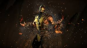 hd wallpaper mortal kombat scorpion